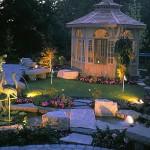 gazebo feature landscaping
