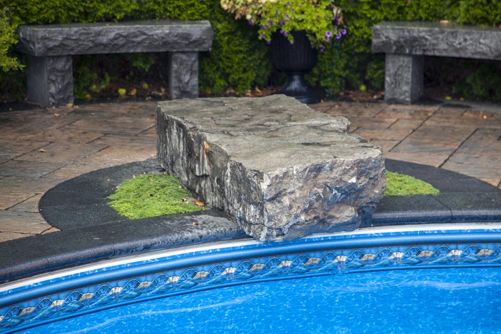 pool stones